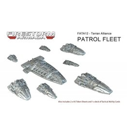 Spartan Games Terran Alliance Patrol Fleet