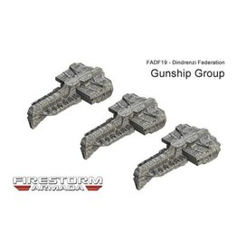 Spartan Games Dindrenzi Gunship Group