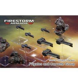 Spartan Games Dindrenzi Frigate & Corvette Group