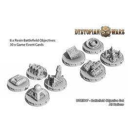 Spartan Games Dystopian Wars Battlefield Objective Set