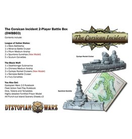 Spartan Games The Corsican Incident 2 Player Box Set