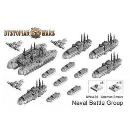 Spartan Games Ottoman Empire Naval Battle Group