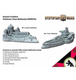 Spartan Games Russian Coalition Pakhtusov Class Battleship