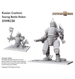 Spartan Games Russian Coalition Svarog Battle Robot