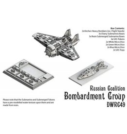 Spartan Games Russian Coalition Bombardment Group