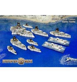 Spartan Games Russian Coalition Battle Flotilla