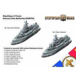 Spartan Games Republique of France Gascony Class Battleship