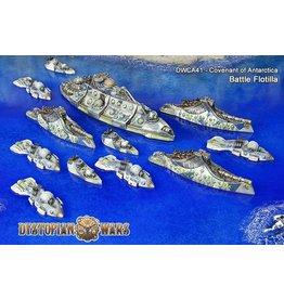 Spartan Games Covenant of Antarctica Battle Flotilla