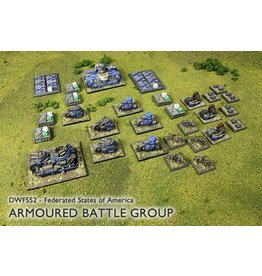 Spartan Games Federated States of America Armoured Battle Group