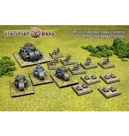Spartan Games Federated States of America Armoured Assault Group
