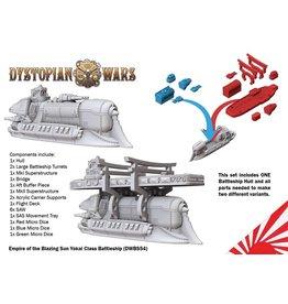 Spartan Games Empire of the Blazing Sun Yokai Class Battleship