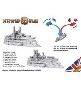 Spartan Games Kingdom of Britannia Magnate Class Battleship