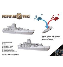 Spartan Games Prussian Empire Eider Class Battleship