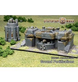 Spartan Games Prussian Empire Ground Fortifications