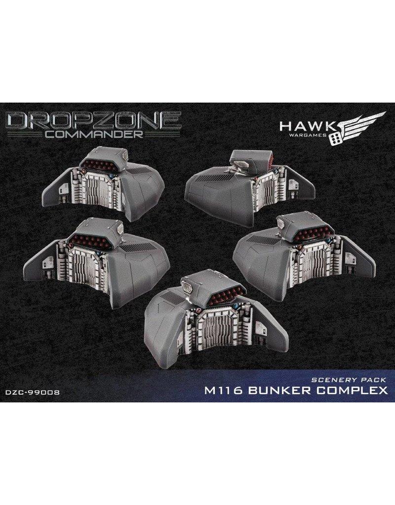 TT COMBAT Dropzone Commander M116 Bunker Complex Scenery Pack