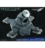 TT COMBAT Dropzone Commander Orbital Defence Laser Scenery Pack