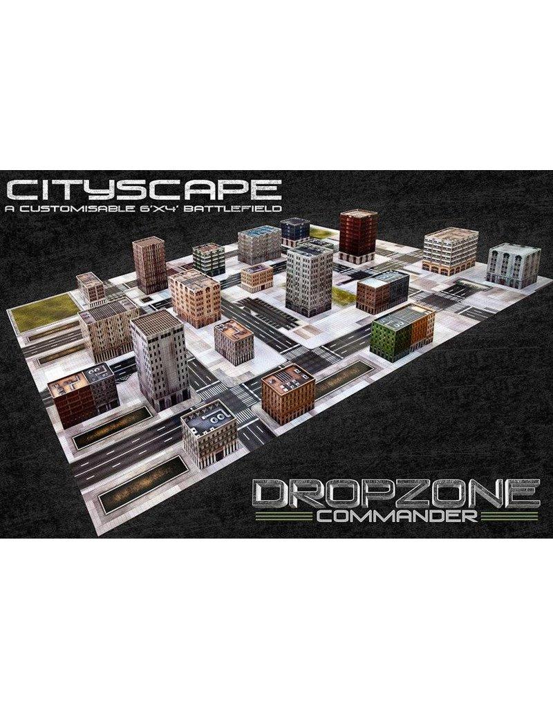 TT COMBAT Dropzone Commander Cityscape Scenery Pack