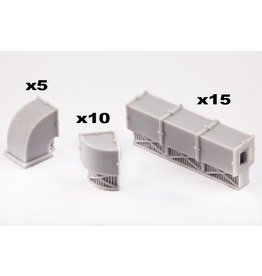 TT COMBAT Aircon Units and Ducts Set