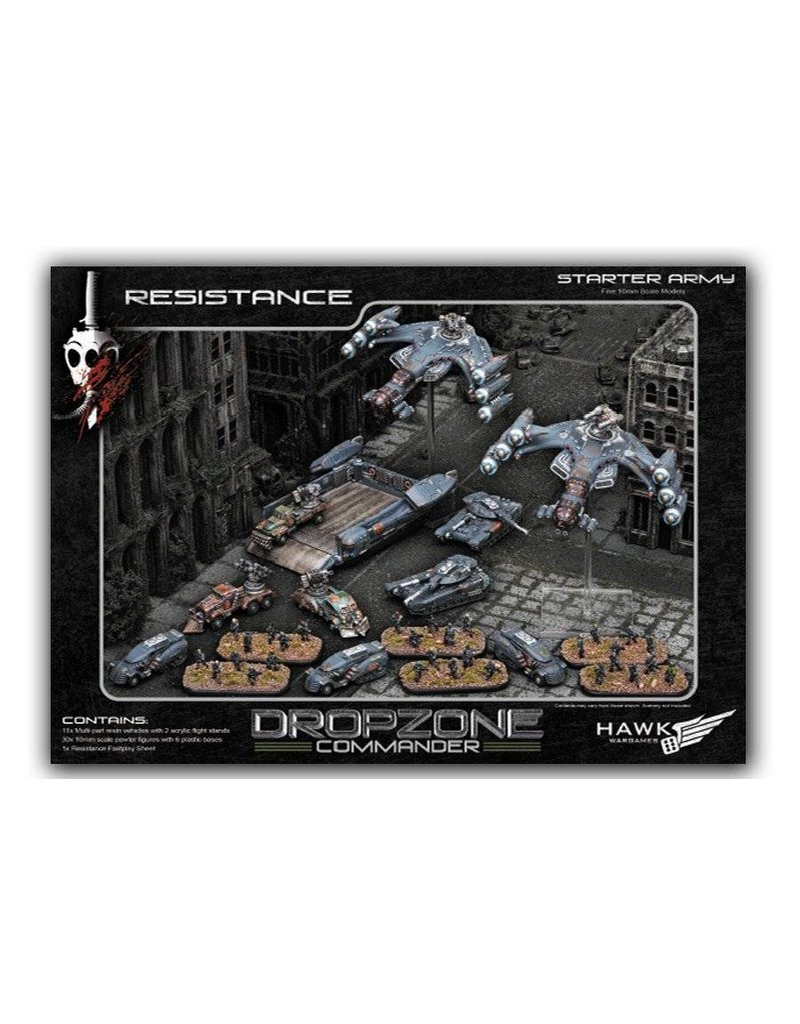 TT COMBAT Dropzone Commander Resistance Starter Set Box Set