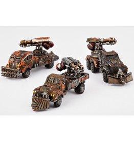 Hawk Wargames Fire Wagon