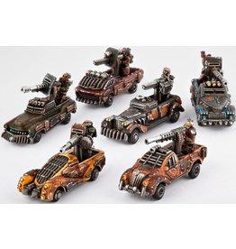Hawk Wargames Gun Technicals