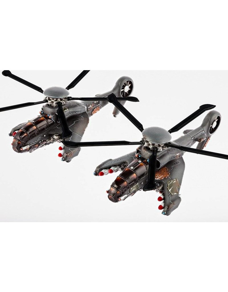 Hawk Wargames AH-16 Cyclone Attack Helicopters