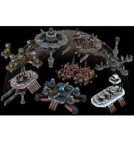 Hawk Wargames Modular Space Station Pack