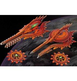 Hawk Wargames Shaltari Cruiser Box