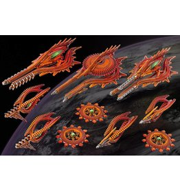 Hawk Wargames Shaltari Starter Fleet