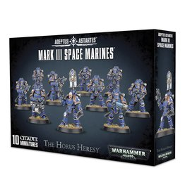 Games Workshop MK III SPACE MARINES