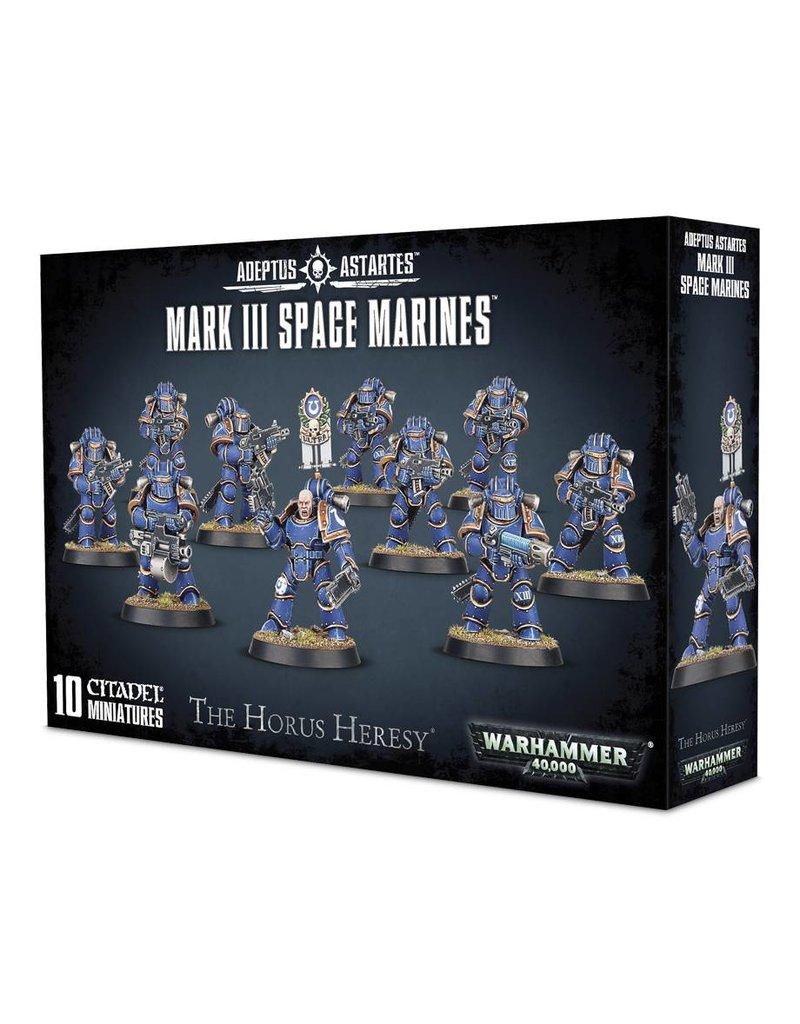 Games Workshop The Horus Heresy: Mk 3 Space Marines