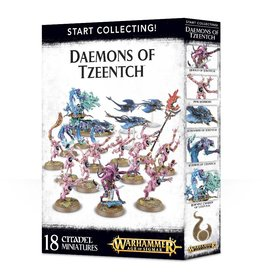 Games Workshop Start Collecting: Daemons Of Tzeentch