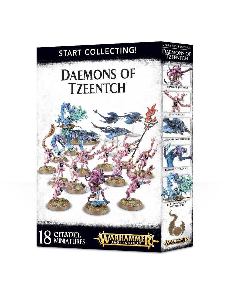 Games Workshop Start Collecting!: Daemons Of Tzeentch