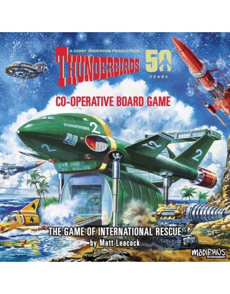 Modiphius Entertainment ThunderBirds the Board Game