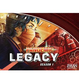 Z-Man Games Pandemic Legacy Season 1 (red)