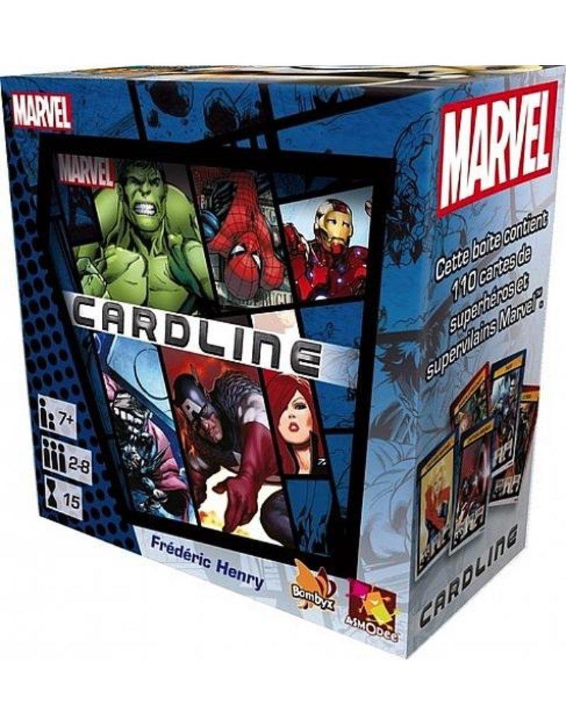 Asmodee Games Marvel Cardline