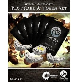 Steamforged Guild Ball Season 2 Plot Cards & Token Set