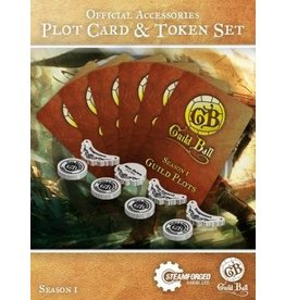 Steamforged Guild Ball Plot Card & Token Set