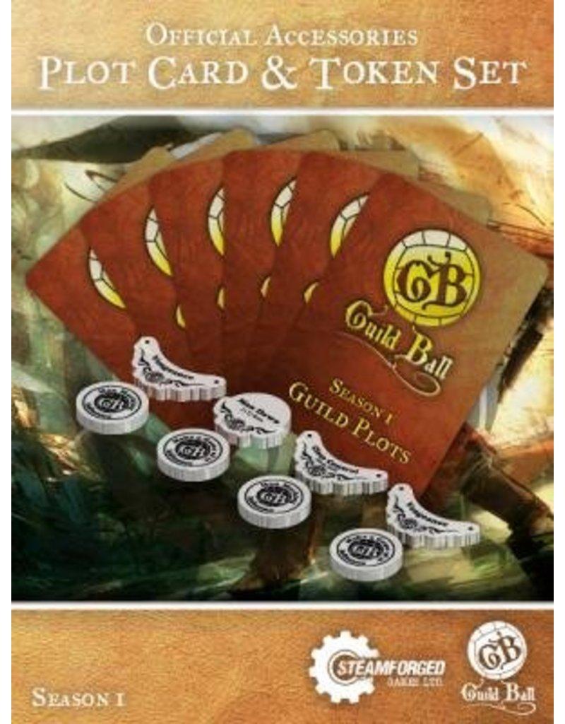 Steamforged Guild Ball Plot Card & Token Set