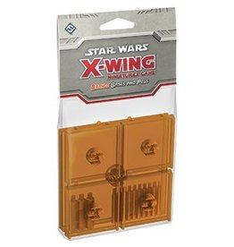 Fantasy Flight Games Star Wars X-Wing: Orange Bases and Pegs Accessory