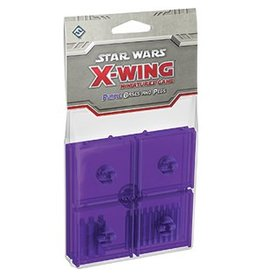 Fantasy Flight Games Star Wars X-Wing: Purple Bases and Pegs Accessory