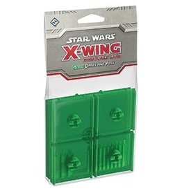 Fantasy Flight Games Star Wars X-Wing: Green Bases and Pegs Accessory