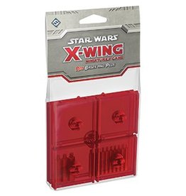 Fantasy Flight Games Star Wars X-Wing: Red Bases and Pegs Accessory