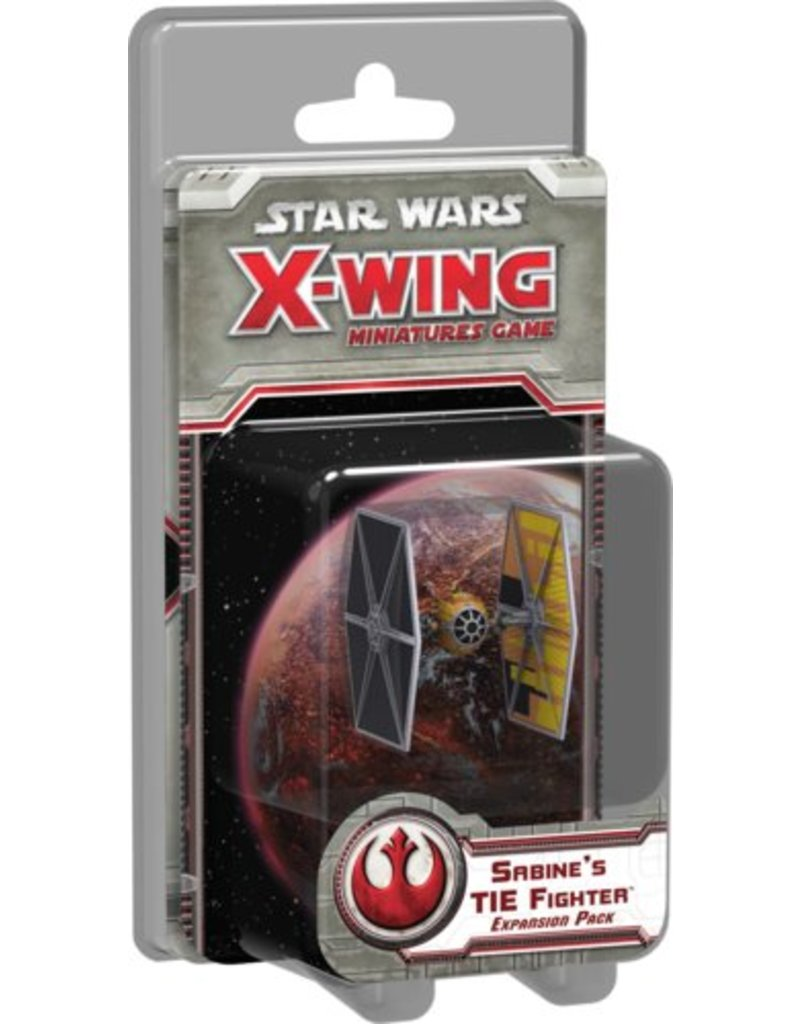 Fantasy Flight Games Star Wars X-Wing: Sabine's TIE Fighter Expansion pack