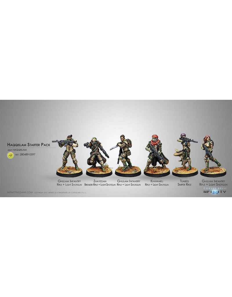 Corvus Belli Haqqislam Starter Pack Box Set
