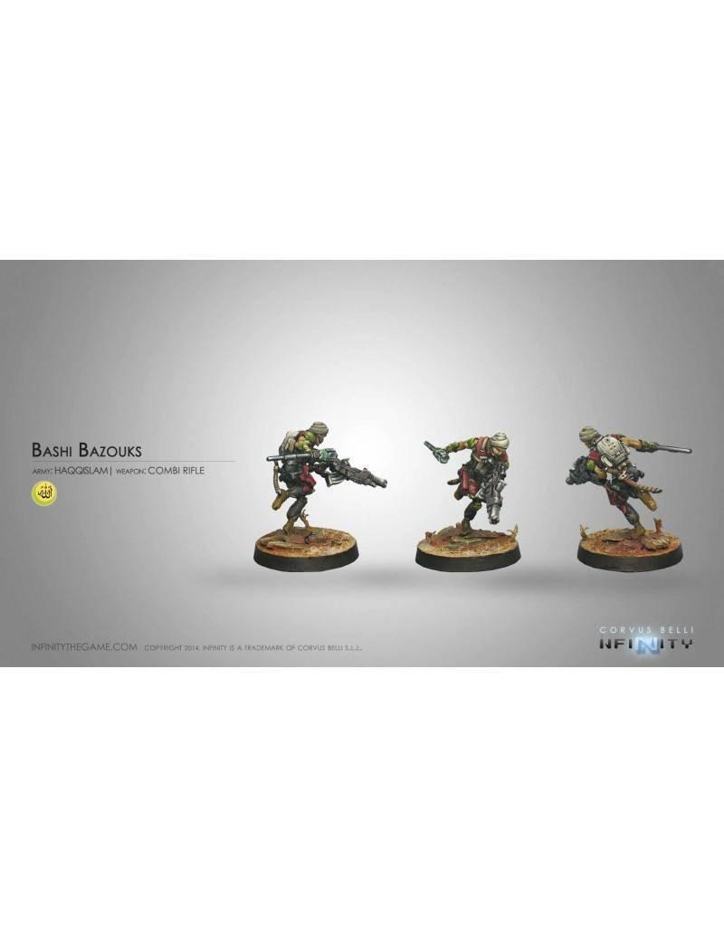 Corvus Belli Haqqislam Bashi Bazouks (Combi Rifle E/Mauler)  Blister Pack