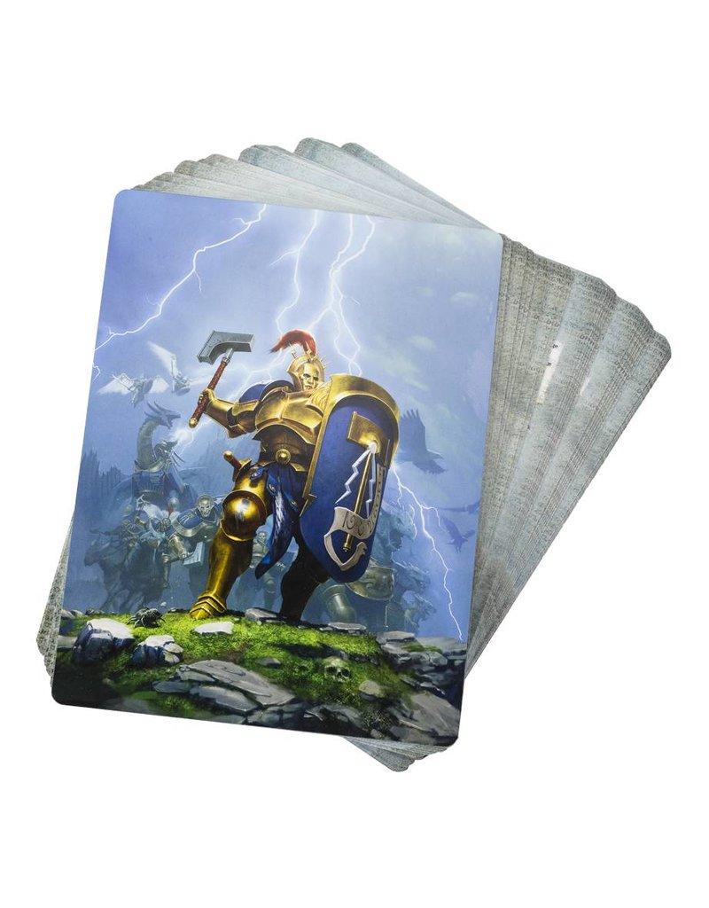 Games Workshop Stormcast Eternals Warscroll Cards Pack