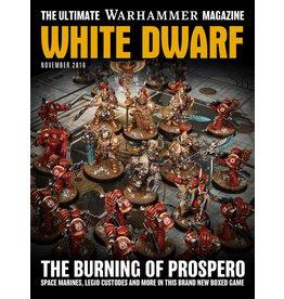 Games Workshop White Dwarf (NOVEMBER 2016)
