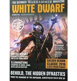 Games Workshop WHITE DWARF (OCTOBER 2016)