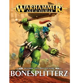 Games Workshop BATTLETOME:  BONESPLITTERZ (HB) (EN)